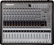 MACADN 16-channel 16DSP24bit professional audio mixer console
