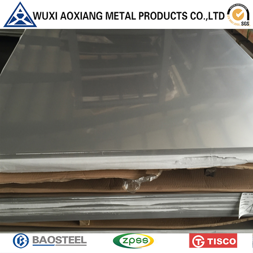 304 304L 310 330 316 316L 430 2B Finish Stainless Steel Sheet/Plate