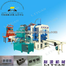 QT4-20C Automatic Concrete Feuille De Brick Faisant La Machine Ecological Brick Machine
