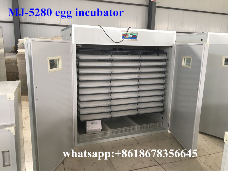 2016 new agricultural machines names and uses MJ-5280 egg incubator hatching machine