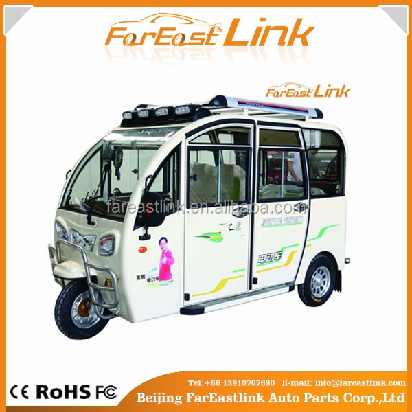 best cheap electric tricycle for adult / three wheels passenger electric tricycle TCC
