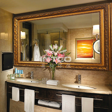 INTCO Italy style luxurious gold dressing table mirror