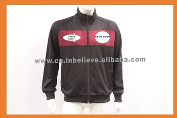 2017/2018 hot sale polyester spandex soccer club jacket