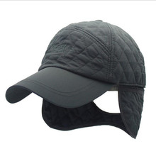 Autumn and winter outdoor earmuffs mountaineering windproof sports running baseball cap