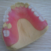 Denture flase teeth porcelain valplast denture teeth for sale