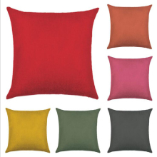 Factory Promotional Cheap Sofa Seat Cushion Throw Pillow