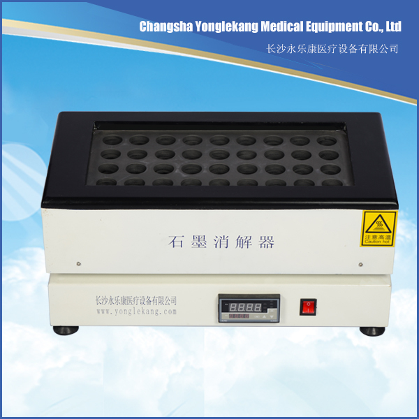 Laboratory two layers graphite digestion heating soil testing equipment