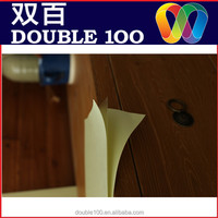 China Wholesales manufacturer 0.12/0.07mm PET plastic sheet for album inner/double side hot melt glue