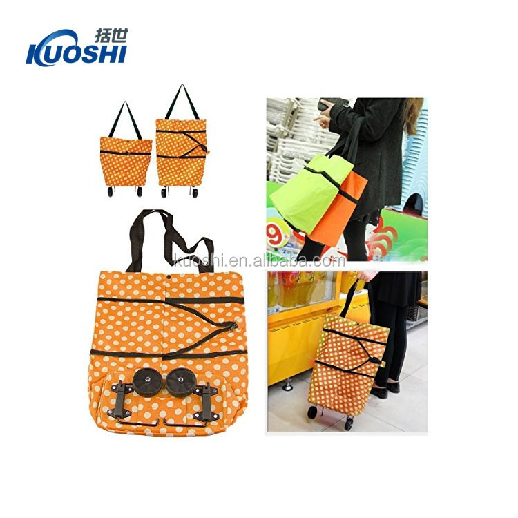 lightweight shopping trolley bag for supermarket