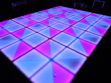 ip65 dance floor rgb led illuminated dance floor