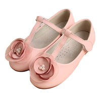 Girls shoes 2016 wholesale manufacturer soft leather kids shoes