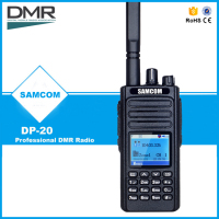 SAMCOM DP-20 DMR Radio Protable Two way radio