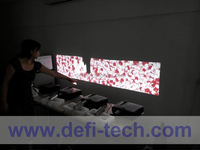 New product DEFI Double screen interactive entertainment support 2 projectors