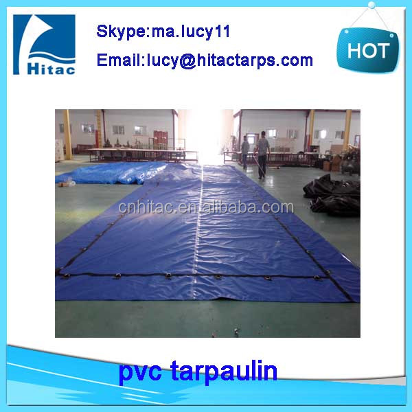 waterproof fire retardant used pvc vinyl fabric tarps tarpaulin factory