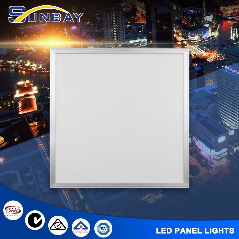 indoor square led panel lighting flat small round led panel light