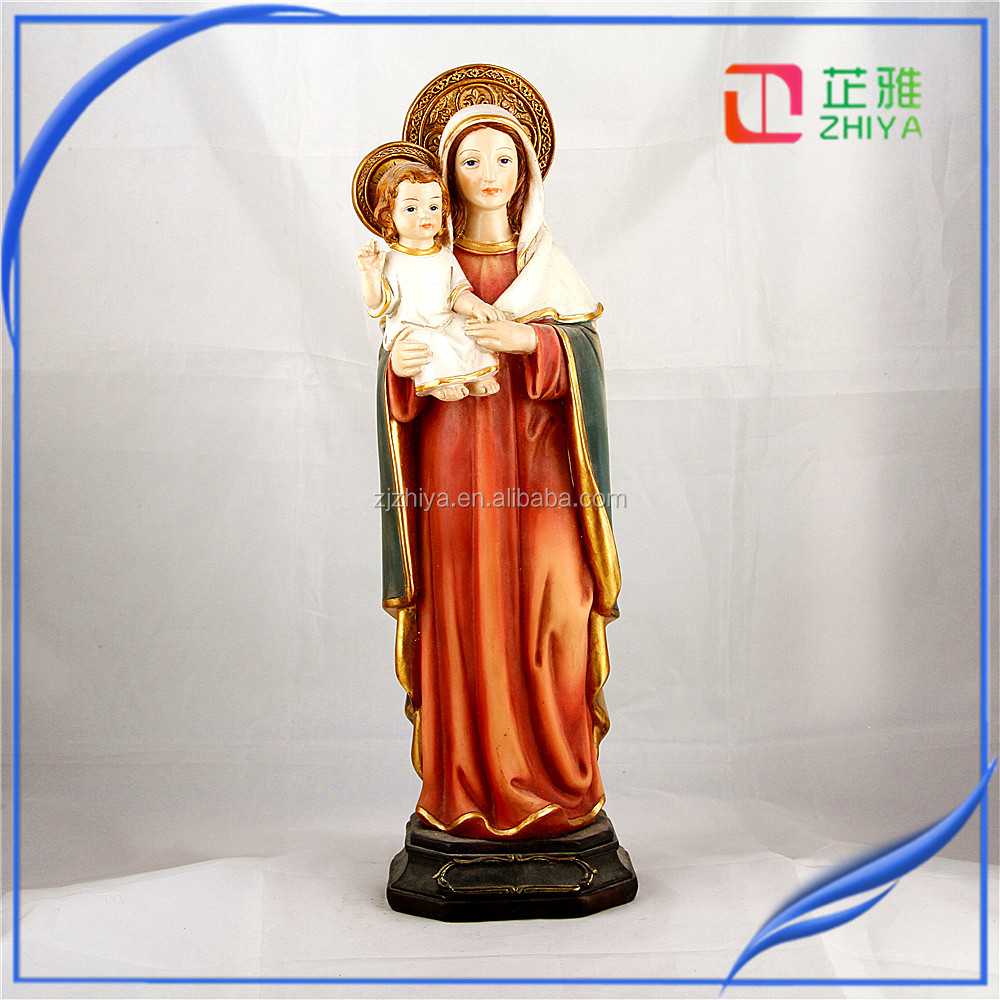 Virgin Mary Figure, Mary Sculpture , Mary Statue