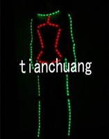 Flashing Dance Clothes / Color Changing Tights for Male / Aerial Acrobatics Suits