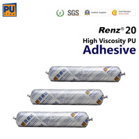 Pu glue for big bus auto glass Renz20