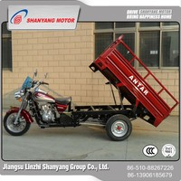 China wholesale merchandise 150cc three wheel motorcycle / rear luggage carrier