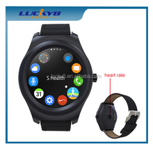 New Android 4.4 Bluetooth 4.0 Q2 Round Screen Smart Watch Phone With Silicone Belt