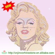 beautiful Latest marilyn monroe rhinestone design for clothes 1 (5)