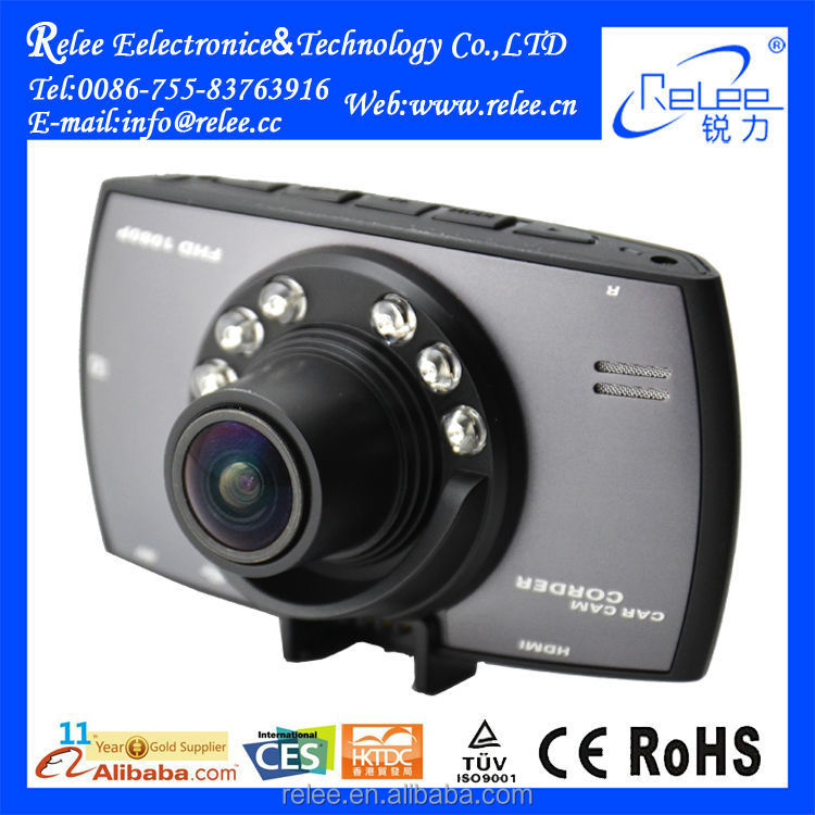 2015 Promotion Car Digital Video Recorder Car Camera with infared night vision