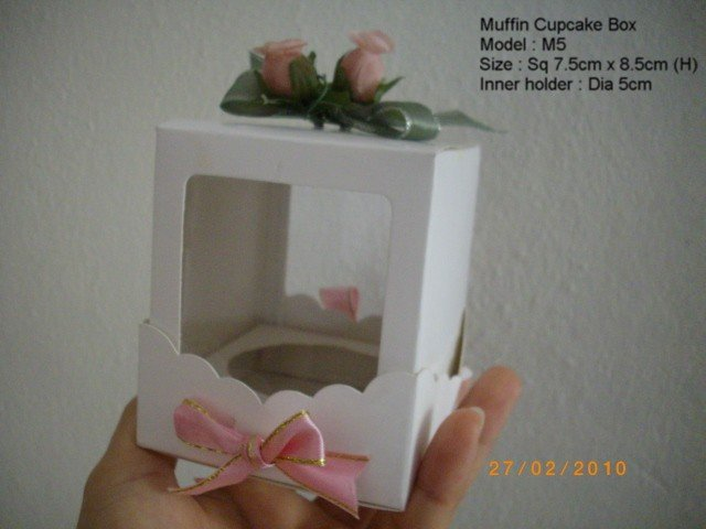Sell Wedding Party Door Gift Box , Muffin Cupcake Box