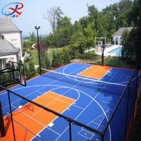 Mobile Outdoor Basketball Court Flooring