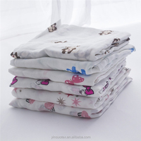 wholesale 100% bamboo muslin baby fabric