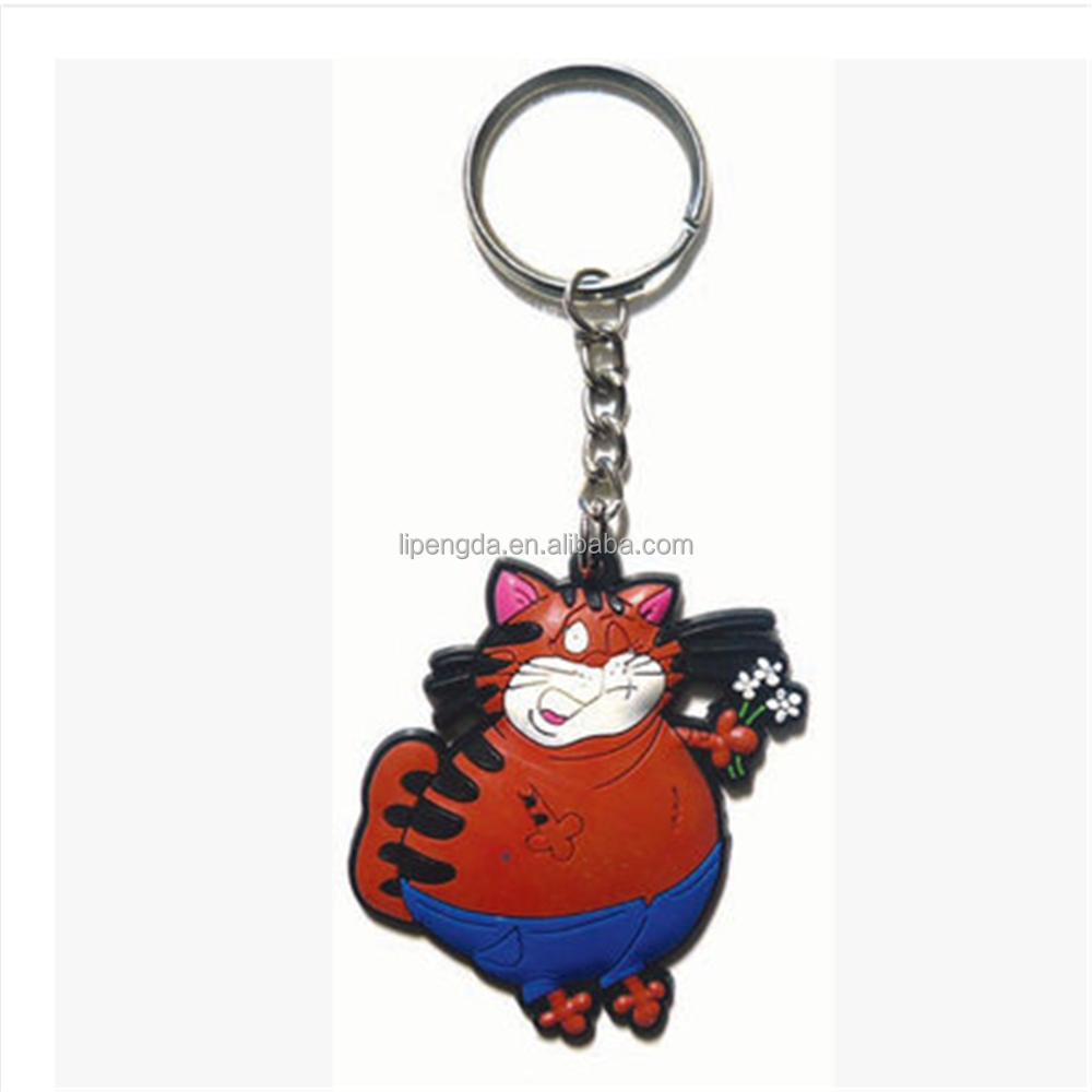 PVC Customized Key Chain Logo High Quility Soft PVC Key Chain