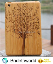 Hot sales tablet protect wood cover for ipad mini