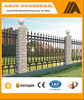 Decorative steel garden fence panels prices(factory sale and export)