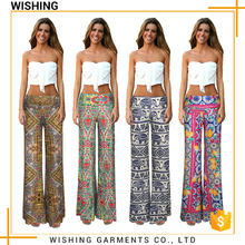 Wholesale promotional products china different color women loose sweat pajama slack pants