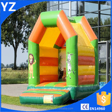 Inflatable zoo park bouncer house pvc bouncy castle/inflatable lion bouncer/inflatable animal bouncer