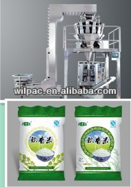 Rice/Candy and coffee weighing and Packaging system