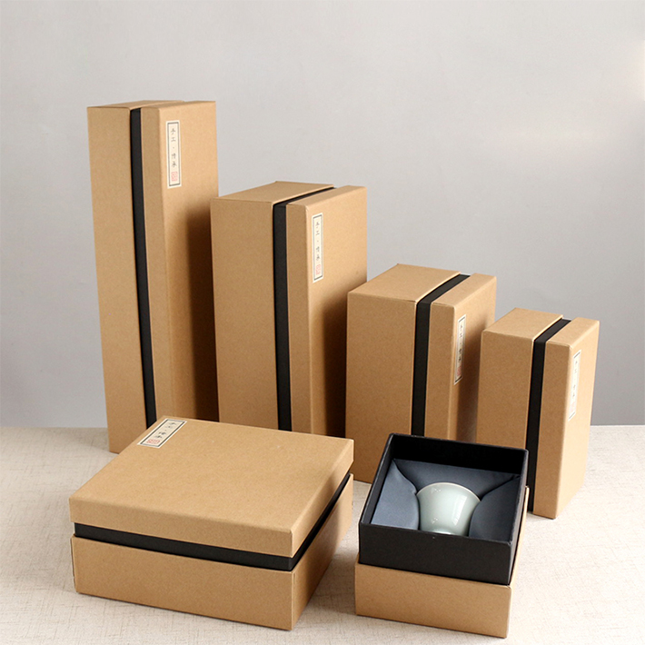 Custom Logo and Design Recycle Strong Corrugated Gift/Shipping Package Box