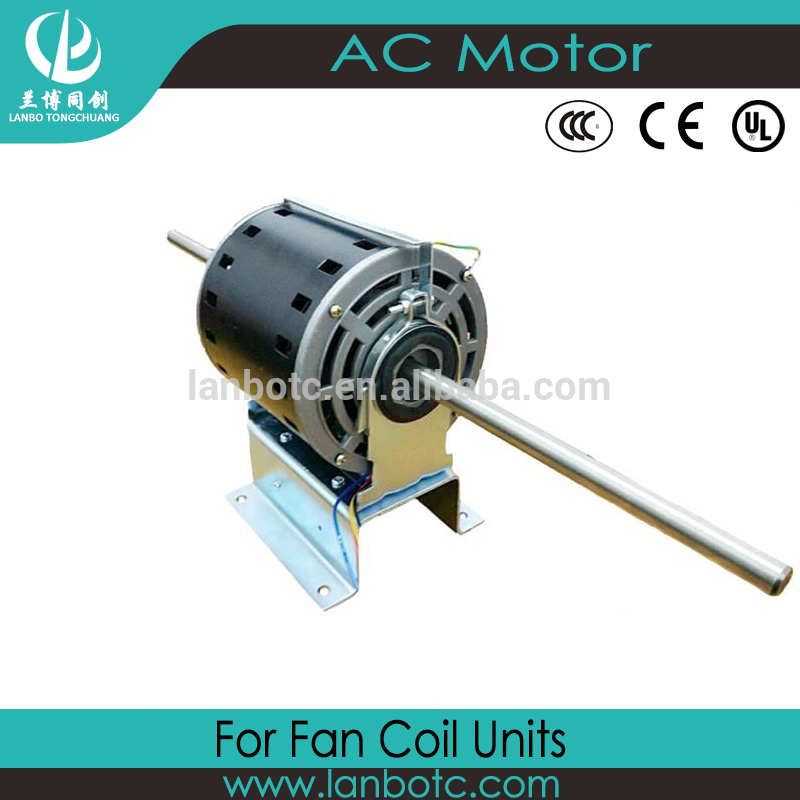 Low price of AC Universal Air Conditioner Fan Motor 220V 180W With Double Shaft