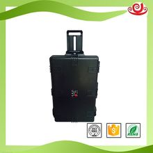 Tricases china manufacture special IP67 PP plastic hard shell pc trolley case M2950