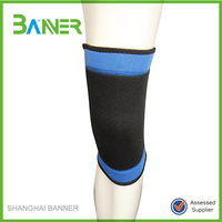 Good quality soft neoprene knee supporter for gym