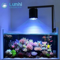 Top seller Lumini Asta 120R1 wifi intelligent saltwater programmable led aquarium lighting