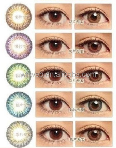 Fashion Cosmetic Contacts Colored Color Contact Lenses Color Contact Lens
