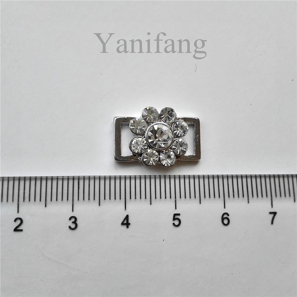 China lingeries manufacturer crystal rhinestone swimwear metal front fastener bikini accessories
