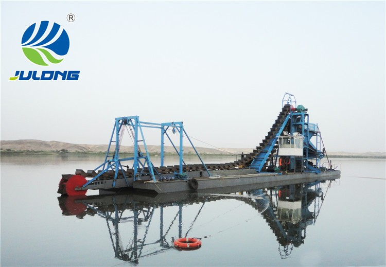 bucket chain gold mining dredger for sale