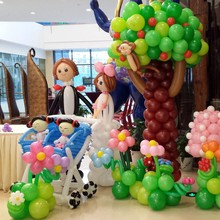 Germany Best Selling decorations party supplies latex big balloon pearl pastel balloons