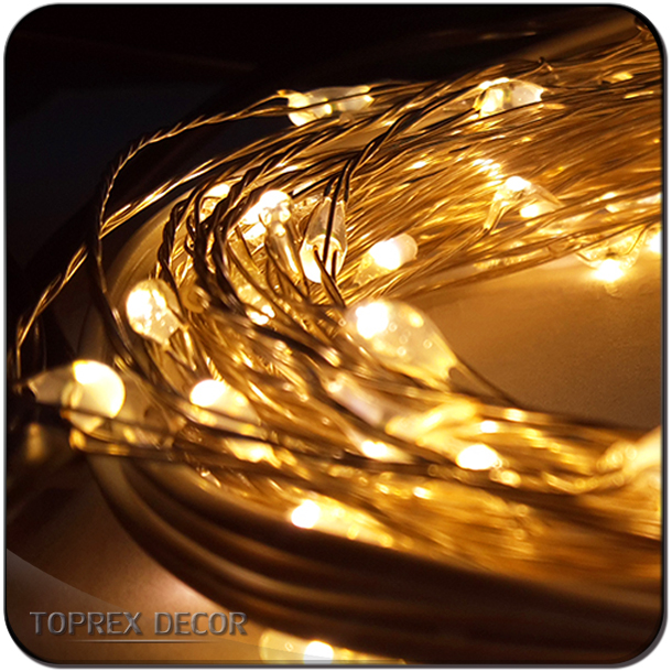 Pure copper wire 5M 10M 20M Decorative Mini Led Fairy String Light