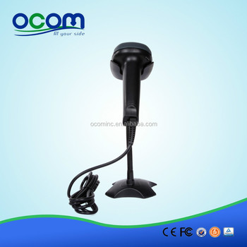 OCBS-LA09 with Stand Auto Sense Bi-directional Laser Barcode Scanner