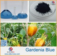 Health Food Plant Extract Gardenia Blue color food colorant