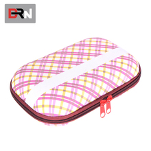 Travel portable expandable beauty EVA box makeup vanity customized case