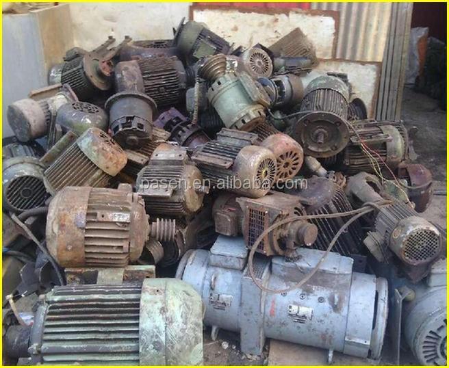 Electric motor recycling machine to open motor and take for Electric motor recycling machine