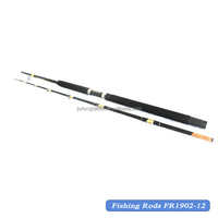 Fishing Tackle Fiberglass Fishing Rods Boat Rod